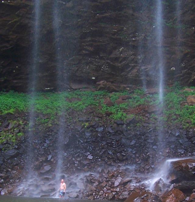 Brian in Waterfall
