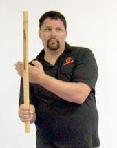 Rich Parsons Promo Picture With Stick