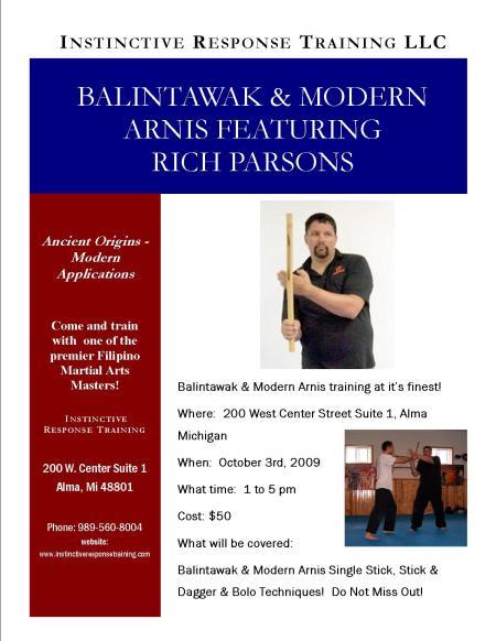 Rich Parsons Seminar