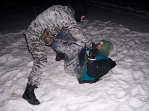 Winter Snow Grappling 2009 (end of the year) 016