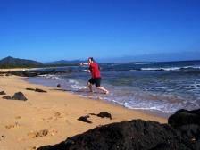 Kauai Beach Stick and Dagger 1