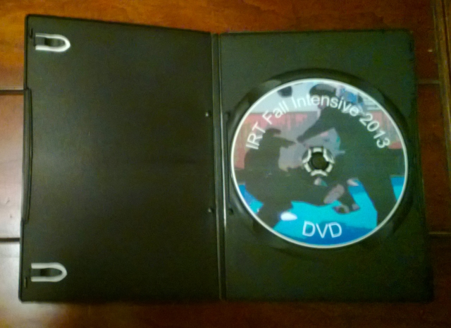 DVD Photo Inside New