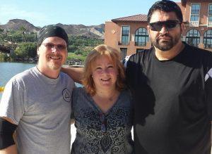 Georgia, Rich and Brian
