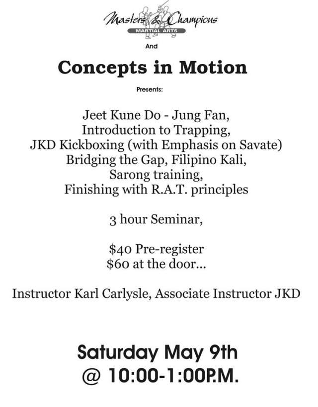 Adam Bell JKD Flyer's