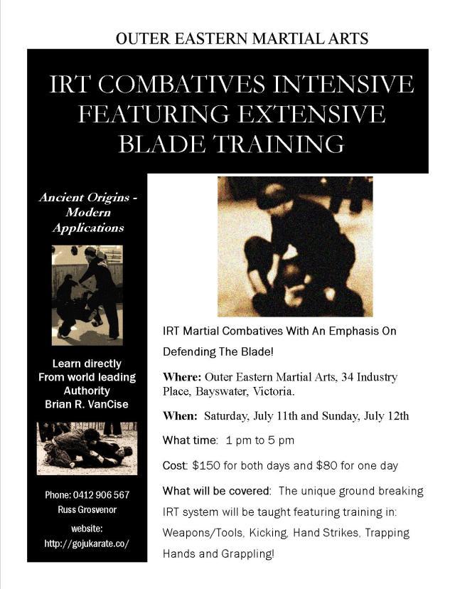 IRT Australian Seminar