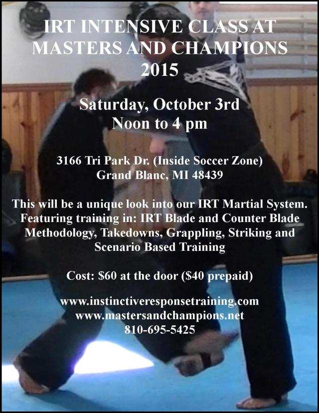 IRT 2015 Masters And Champions