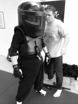 Brian in Predator Suit! (2)