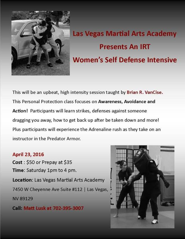 Women's Self Defense 2016