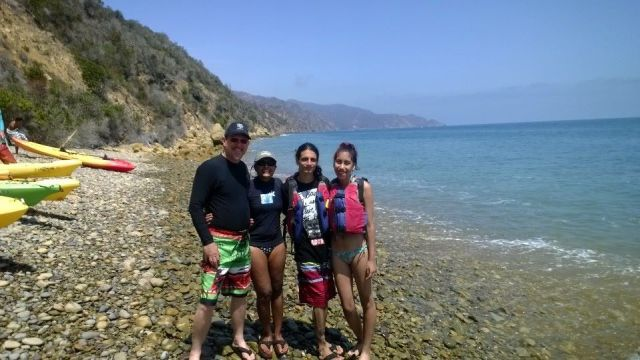 Kayaking on Catalina