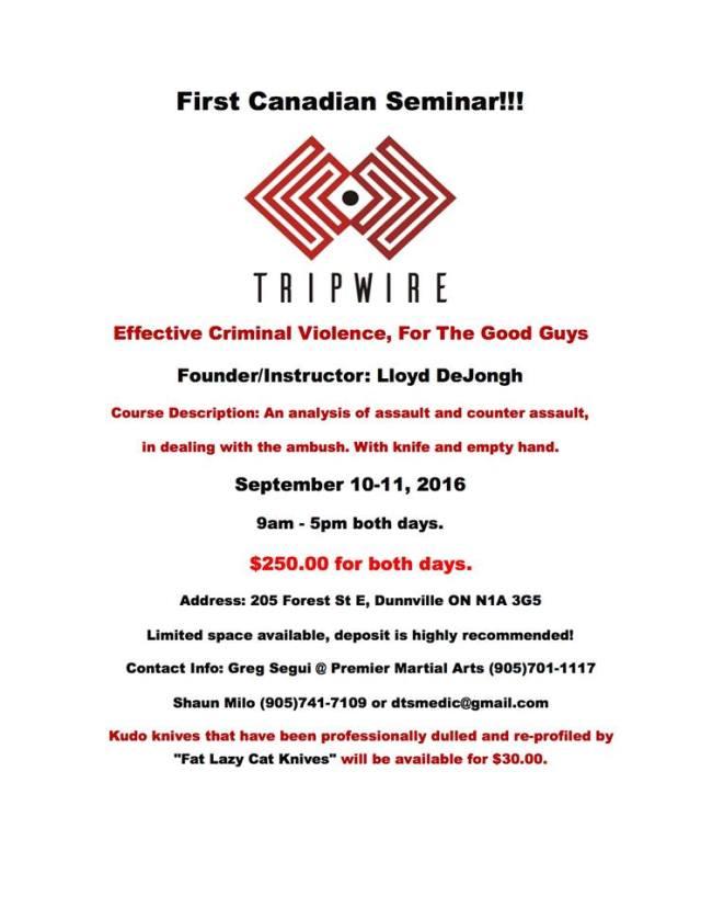 Tripwire Seminar