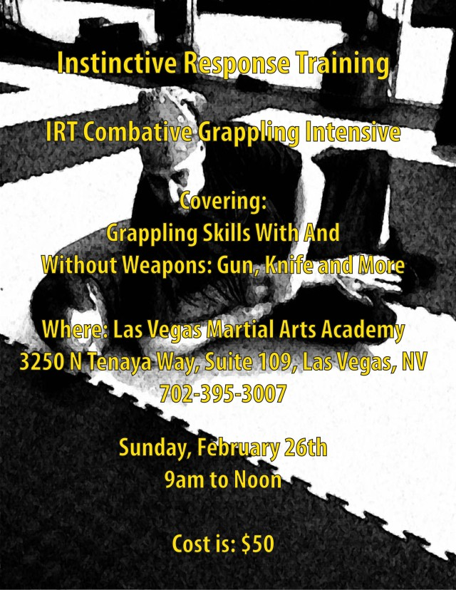 IRT Combative Grappling Intensive
