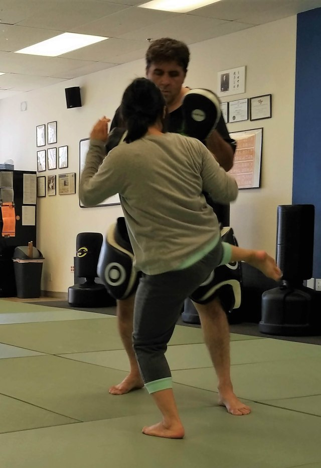 Kicking Photo 2